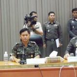 แถลงข่าวการจับกุมผู้ต้องหาคดีลอบวางระเบิดในพื้นที่อำเภอหาดใหญ่