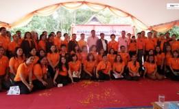 ธอส. คืนความสุขสู่สังคมไทย จัดกิจกรรมพัฒนาสังคมและสิ่งแวดล้อมภายใต้แนวคิด บ-ว-ร มุ่งพัฒนา บ้าน-วัด-โรงเรียน ในพื้นที่ จ.สงขลา