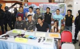 ตำรวจภูธรภาค 9 แถลงข่าวการจับกุมผู้ต้องหาคดีเรียกค่าไถ่ พื้นที่ สภ.คอหงส์