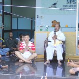พิธีบวงสรวงอันเชิญเทพยดาภายในบริษัท NPS Engineering Malaysia Sdn Bhd