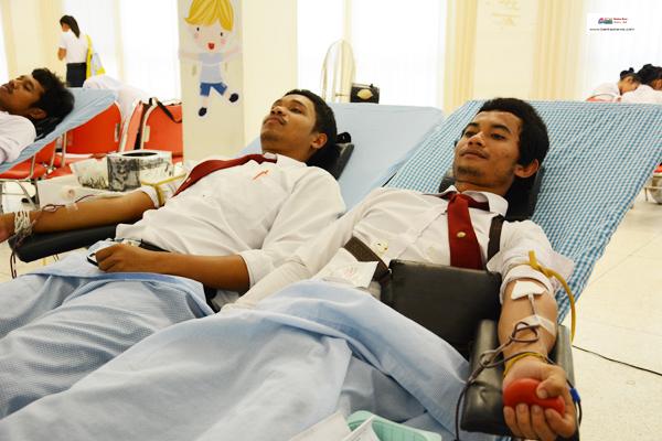 ราชภัฎสงขลาบริจาคเลือด (4)
