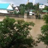 สถานการณ์ระดับน้ำบริเวณคลองอู่ตะเภา อำเภอหาดใหญ่  จังหวัดสงขลา