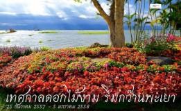 เทศกาลดอกไม้งาม  ริมกว๊านพระเยา