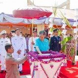 สมเด็จพระเทพรัตนราชสุดาฯ สยามบรมราชกุมารี เสด็จพระราชดำเนินทรงวางศิลาฤกษ์ หอดูดาวเฉลิมพระเกียรติฯ
