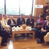 ผู้แทนสมาคมความมั่นคงของพระพุทธศาสนาในประเทศไทยเข้าพบประธานคณะกรรมาธิการการศาสนา ศิลปะ วัฒนธรรมและการท่องเที่ยว สนช และประธานคณะอนุกรรมาธิการด้านการศาสนา
