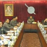 ผู้บัญชาการตำรวจแห่งชาติเรียกประชุมคณะกรรมการกลั่นกรองแต่งตั้งโยกย้ายข้าราชการตำรวจ