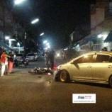 อุบัติเหตุรถเก๋งชนรถจักรยานยนต์บริเวณซอย 8 ราษฏร์อุทิศ อำเภอหาดใหญ่ จังหวัดสงขลา