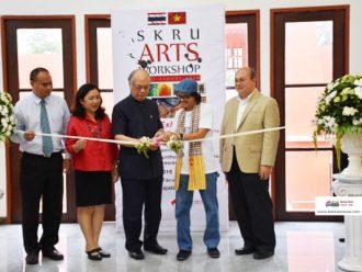 มรภ.สงขลา ดึง ม.ฮานอย ร่วมนิทรรศการศิลปะ รุกแลกเปลี่ยนการเรียนการสอน-ศิลปินจิตรกรรม