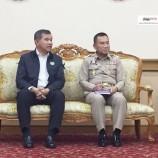 รัฐมนตรีช่วยว่าการกระทรวงศึกษาธิการเดินทางมาเยี่ยมเยือน พบปะ หัวหน้าส่วนราชการของกระทรวงศึกษาธิการในจังหวัดปัตตานี