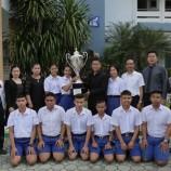 ร่วมแสดงความยินดีกับวงดนตรีโรงเรียนเทศบาล 5 (วัดหัวป้อมนอก) ชนะเลิศการประกวดวงดนตรีเพลงพระราชนิพนธ์ ในระดับมัธยมศึกษา
