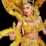 """เบื้องหลังชุดประจำชาติยอดเยี่ยม Miss International Queen 2016 ผลงาน """"รพีภัทร สำเร"""" ศิษย์เก่าออกแบบประยุกต์ศิลป์ มรภ.สงขลา"""