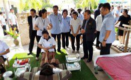 สนช. ศึกษาดูงานเกี่ยวกับการนำแพทย์แผนไทยและสมุนไพรมาใช้ในการรักษาพยาบาล