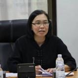 รัฐมนตรีช่วยว่าการกระทรวงเกษตรและสหกรณ์และคณะลงพื้นที่ติดตามงานตามแผนการผลิตและการตลาดข้าวครบวงจร (ด้านการผลิต) ในพื้นที่จังหวัดสุรินทร์