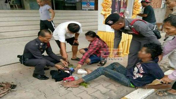 กรีดร้องสุดเสียง!! หนุ่มเมายา คลั่งจัด ฉุดสาววัย 18 เข้าห้องน้ำสถานีรถไฟหวังข่มขืน เดชะบุญพลเมืองดีช่วยทันเวลา