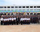 พิธีเชิญธงชาติไทยขึ้นสู่ยอดเสาตำรวจภูธรภาค 9 (แห่งใหม่)