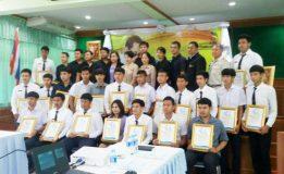 ตัวแทนเยาวชนจากจังหวัดนครศรีธรรมราชคว้ารางวัลการแข่งขันฝีมือแรงงานแห่งชาติ ครั้งที่ 27 ระดับภาค 23 รางวัล