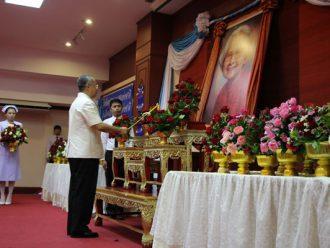 จังหวัดสุรินทร์จัดงานเนื่องวันพยาบาลแห่งชาติ วันทันตสาธารณสุขแห่งชาติ วันสังคมสงเคราะห์แห่งชาติ วันอาสาสมัครไทย และวันรักษ์ต้นไม้ ประจำปี 2560 ถวายเป็นพระราชกุศลแด่สมเด็จพระศรีนครินทราบรมราชชนนี