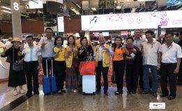 รองนายกเทศมนตรีนครสงขลานำสมาชิกสโมสรไลออนส์สงขลาเดินทางไปร่วมงานฉลองครบรอบ 30 ปี สโมสรไลออนส์สิงคโปร์นีซูน