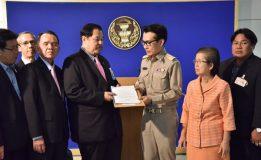 สนช. รับหนังสือจากประธานกรรมการดำเนินการสันนิบาตสหกรณ์แห่งประเทศไทยและคณะผู้ริเริ่มเสนอกฎหมาย