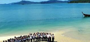 เกาะละวะใหญ่หาดสวยทะเลใสเพชรงามอ่าวพังงา