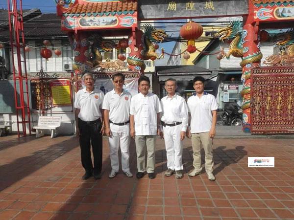 5 สมาคมจีนแต้จิ๋วร่วมพิธีไหว้พระรอบเมืองสงขลา