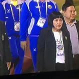 สุดยอดผู้ว่าฯ หญิงคนเดียวของไทยนำทัพนักกิฬาจากเพชรบุรีเข้าร่วมแข่งขันกิฬาเยาวชนแห่งชาติ