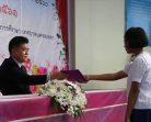 โรงเรียนเทศบาล 4 (บ้านแหลมทราย) จัดพิธีมอบประกาศนียบัตรนักเรียนที่สำเร็จการศึกษา ประจำปีการศึกษา 2560