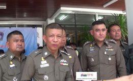 ตำรวจภูธรภาค 9 แถลงข่าวผลการปราบปรามอาชญากรรมช่วงเทศกาลสงกรานต์
