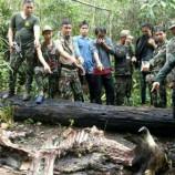 ปราจีนบุรี ชุดสืบสวนสภ.ประจันตคามรวบพรานป่าฆ่ากระทิงกลางป่าแร่เนื้อขาย!!