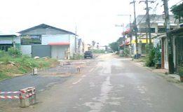 เทศบาลเมืองคลองแหก่อสร้างปรับปรุงถนนพร้อมคูระบายน้ำ บริเวณชุมชนเมืองใหม่ 1