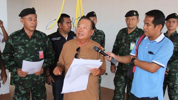 ทหาร ตร. สนธิกำลัง ฝ่ายปกครอง ร่วมตรวจสอบ จัดระเบียบโรงแรม ที่พักในบนเกาะพีพี