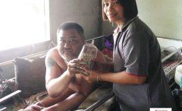 สำนักข่าวบ้านข่าวลงพื้นที่หมู่บ้านควนเสม็ด เพื่อเยี่ยมให้กำลังใจผู้สูงอายุและผู้ป่วยพิการที่ติดเตียง