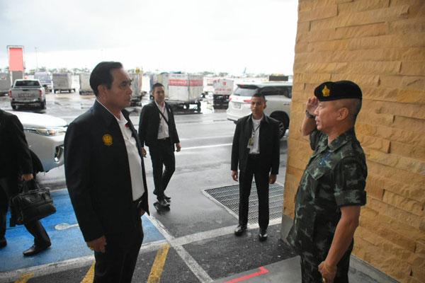 นายกรัฐมนตรีและคณะฯ เดินทางมาตรวจราชการในพื้นที่จังหวัดภูเก็ต