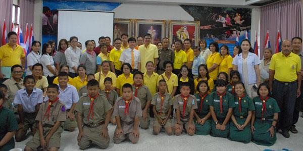 สระบุรี-นายกองค์การบริหารส่วนตำบลหน้าพระลาน จัดโครงการอบรมให้ความรู้คุ้มครองสิทธิและช่วยเหลือประชาชน ร่วมกับคณะกรรมการศูนย์พึ่งพิง(OSCC)โรงพยาบาลพระพุทธบาท ประจำปี 2561