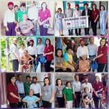 ชมรมสันติสุขไทย-อินเดียได้นำรถเข็นไปบริจาค ให้กับคนพิการ คนชรา คนไข้ติดเตียง ที่ด้อยโอกาสตามชุมชนต่างๆ ในเขตจอมทอง