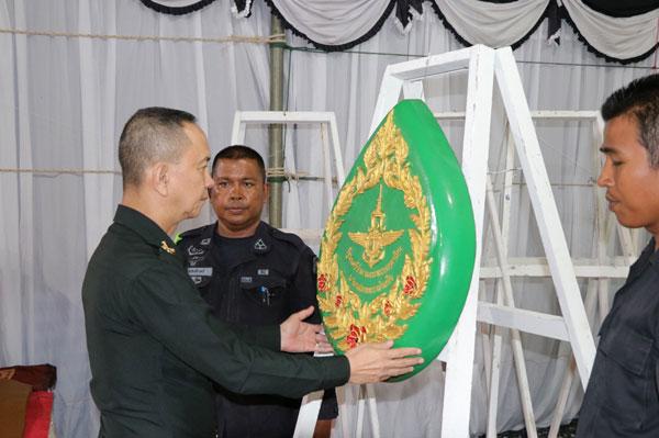 ผบ.มทบ.41 เป็นประธานสวดพระอภิธรรมศพ อาสาสมัครทหารพรานสุชาติ กองสุข