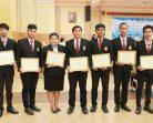 8 ผู้นำ นศ. มรภ.สงขลา พาเหรดรับรางวัลเยาวชนดีเด่น องค์กรท้องถิ่นดึงคนรุ่นใหม่โชว์ศักยภาพ-สร้างภาวะผู้นำ