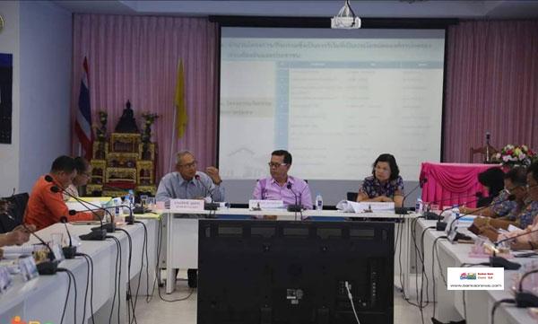 เทศบาลนครสงขลาเข้ารับการตรวจประเมินประสิทธิภาพและประสิทธิผลการปฏิบัติงานราชการ