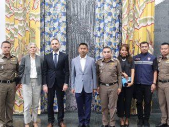 ผบช.สตม. เข้าพบอัครราชทูตที่ปรึกษาสถานเอกอัครราชทูตฝรั่งเศสประจำประเทศไทย