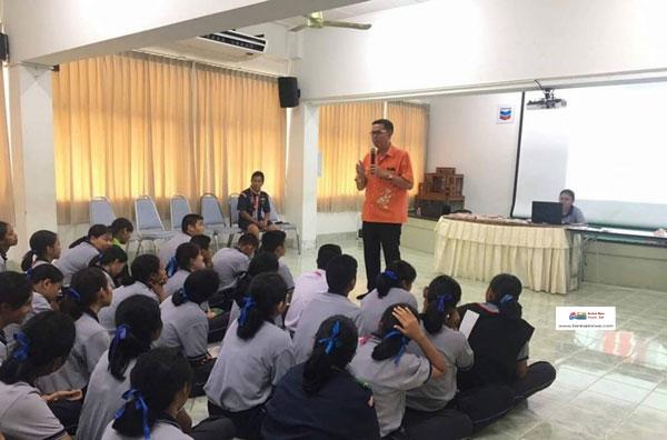 เทศบาลนครสงขลา ร่วมกับบริษัท เชฟรอนประเทศไทยสำรวจและผลิต จำกัด และมูลนิธิแพธทูเฮลท์จัดโครงการส่งเสริมสุขภาวะและลดการตั้งครรภ์วัยรุ่น