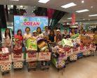 บรรยากาศงานมอบรางวัลและช้อปปิ้งฟรี รายการ Odean Happy Sale 2019