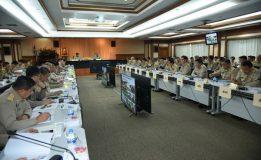 กระทรวงมหาดไทยประชุมขับเคลื่อนและติดตามนโยบายของรัฐบาล
