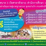 โรงเรียนเทศบาล 3 (วัดศาลาหัวยาง) รับสมัครนักเรียนประจำปีการศึกษา 2562