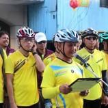 """อำเภอเบตง จังหวัดยะลา ร่วมกับ ชมรมจักรยานอำเภอเบตง และชมรมจักรยานอำเภอเปิงกาลันฮูลู รัฐเปรัค ประเทศมาเลเซีย จัดกิจกรรม """"ปั่นสัมพันธ์รัก 2 แผ่นดิน"""" ไทย-มาเลย์ สร้างความสัมพันธ์ที่ดีระหว่างข้าราชการและประชาชนของทั้งสองประเทศ"""
