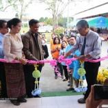 """ศศ.บ.ภาษาไทย มรภ.สงขลา รวมทีมสร้าง """"ห้องสมุดมีชีวิต"""" ภารกิจสร้างสุขให้น้อง"""