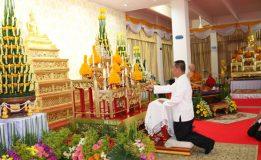 กองบัญชาการกองทัพไทยทำบุญตักบาตร ไถ่ชิวิตโค กระบือ เพื่อถวายเป็นพุทธบูชา