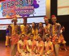 """นศ.นาฏศิลป์ฯ มรภ.สงขลา ผงาดเวทีประกวด """"FESCO 2019"""" มาเลเซีย  โชว์การแสดงซัมเป็ง คว้ารางวัลรองชนะเลิศอันดับ 1 ประเภท Folk Dance"""
