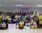 """โครงการให้ความรู้ CPR + AED Training """"เพราะทุกคนมีหัวใจ มาปั๊มหัวใจด้วยกัน"""""""