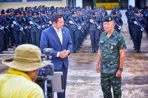 การซักซ้อมใหญ่ ของทหารพรานหญิง กองกำลังทหารพรานหญิงจังหวัดชายแดนภาคใต้