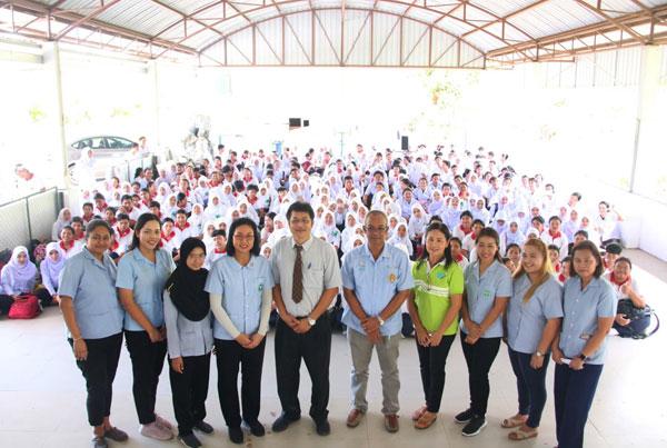 มรภ.สงขลา บูรณาการหลักสูตรสาธารณสุขฯ พัฒนาสุขภาวะชุมชนเกาะยอ